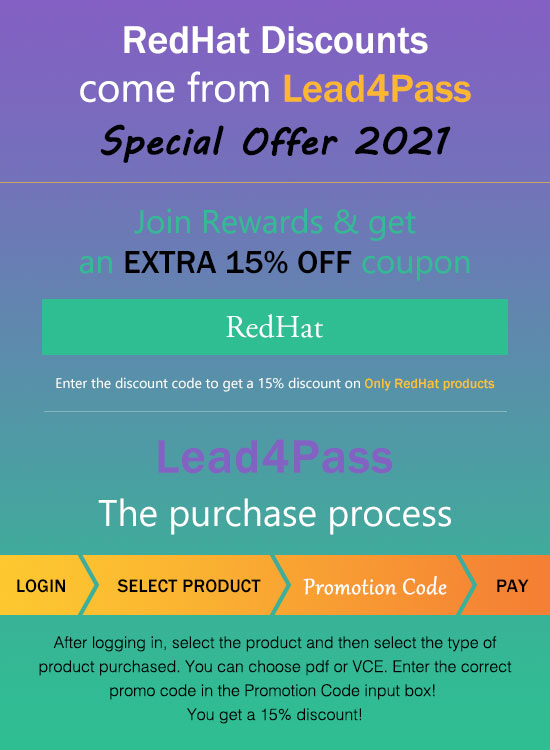redhat coupon code